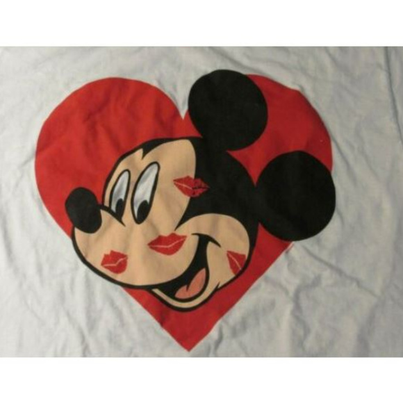 Disney Other - Disney Mickey Mouse Unlimited Heart Lips Kisses